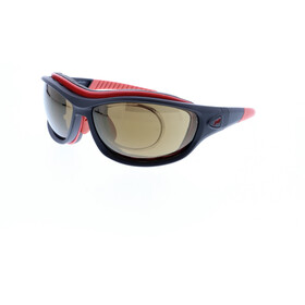 Jill Sport J-SP105 Sunglasses, black-red